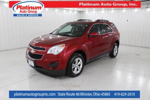 2015 Chevrolet Equinox for sale at Platinum Auto Group Inc. in Minster OH