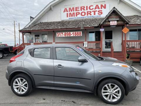 2014 Nissan JUKE for sale at American Imports INC in Indianapolis IN