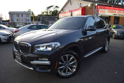 2019 BMW X3 for sale at Foreign Auto Imports in Irvington NJ