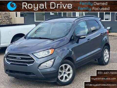 2018 Ford EcoSport for sale at Royal Drive in Newport MN
