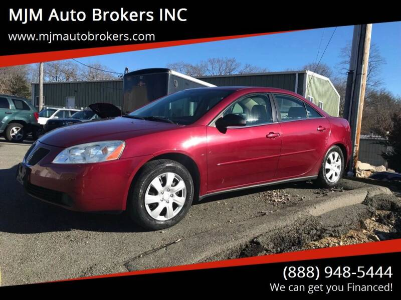 2005 Pontiac G6 for sale at MJM Auto Brokers INC in Gloucester MA