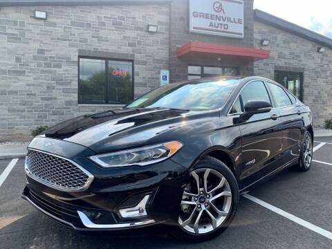 2019 Ford Fusion Hybrid for sale at GREENVILLE AUTO & RV in Greenville WI