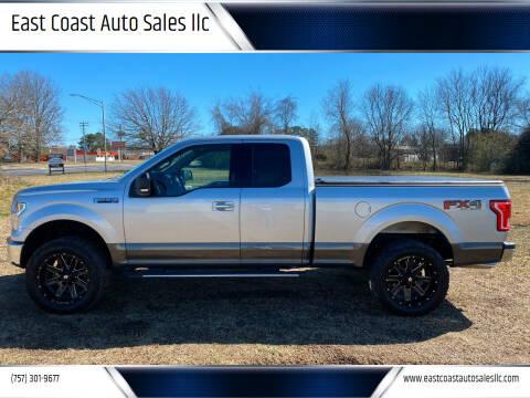 2015 Ford F-150 for sale at East Coast Auto Sales llc in Virginia Beach VA