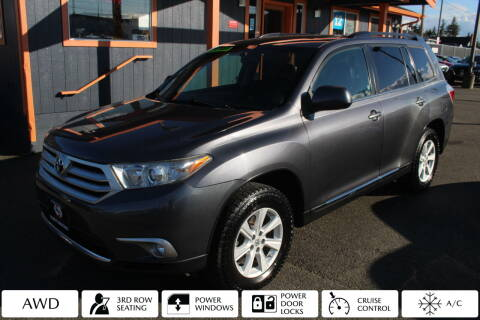 2012 Toyota Highlander for sale at Sabeti Motors in Tacoma WA