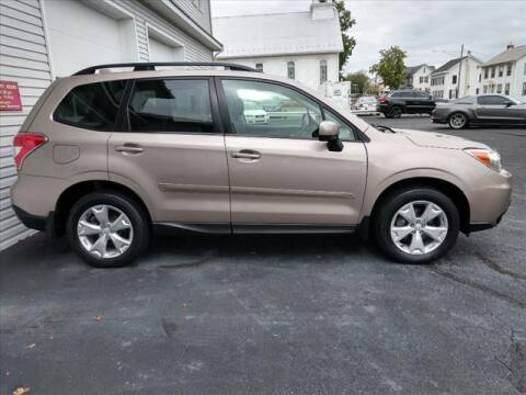 2016 Subaru Forester for sale at VILLAGE SERVICE CENTER in Penns Creek PA