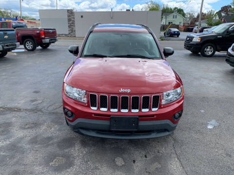2011 Jeep Compass for sale at L.A. Automotive Sales in Lackawanna NY