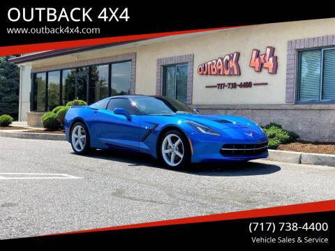 2014 Chevrolet Corvette for sale at OUTBACK 4X4 in Ephrata PA