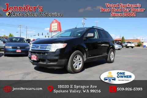 2007 Ford Edge for sale at Jennifer's Auto Sales in Spokane Valley WA