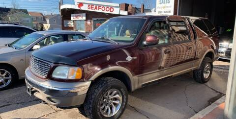 2002 Ford F-150 for sale at Frank's Garage in Linden NJ