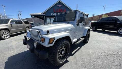 2003 Jeep Wrangler for sale at LUNA CAR CENTER in San Antonio TX