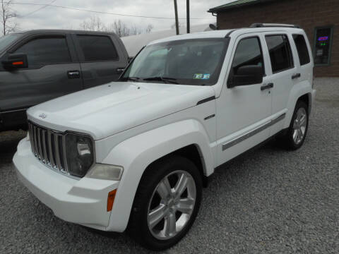 2012 Jeep Liberty for sale at Sleepy Hollow Motors in New Eagle PA