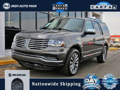 2016 Lincoln Navigator for sale at INDY AUTO MAN in Indianapolis IN