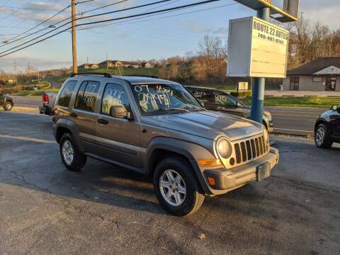 2007 Jeep Liberty for sale at Route 22 Autos in Zanesville OH