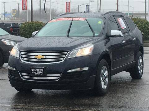 2017 Chevrolet Traverse for sale at SUNTRUP BUICK GMC in Saint Peters MO