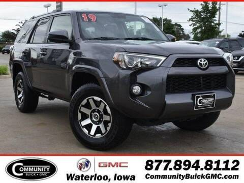 2019 Toyota 4Runner for sale at Community Buick GMC in Waterloo IA