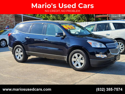 2011 Chevrolet Traverse for sale at Mario's Used Cars - South Houston Location in South Houston TX