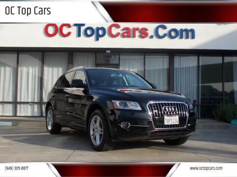 2016 Audi Q5 for sale at OC Top Cars in Irvine CA