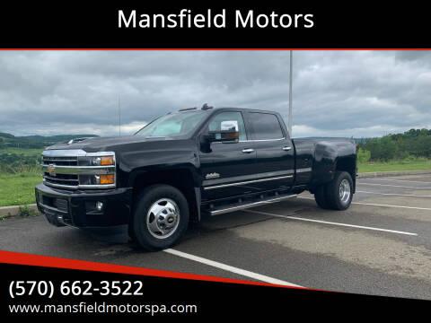 2018 Chevrolet Silverado 3500HD for sale at Mansfield Motors in Mansfield PA
