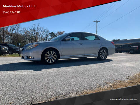 2012 Toyota Avalon for sale at Madden Motors LLC in Iva SC