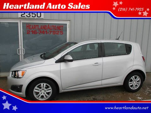 2012 Chevrolet Sonic for sale at Heartland Auto Sales in Medina OH