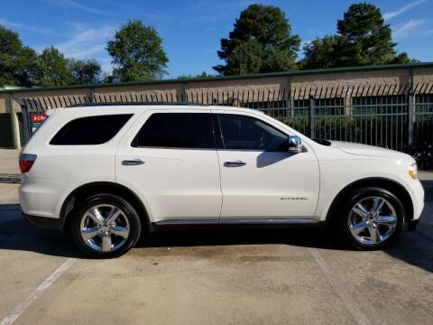 2012 Dodge Durango for sale at Hollingsworth Auto Sales in Wake Forest NC