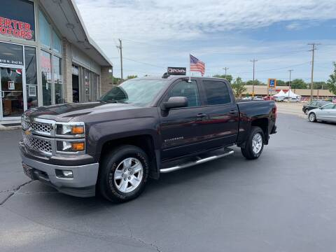 2015 Chevrolet Silverado 1500 for sale at Rick Herter Motors in Loves Park IL