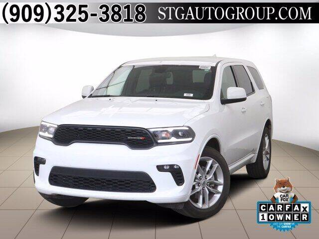 2021 Dodge Durango for sale at STG Auto Group in Montclair CA