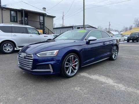 2018 Audi S5 for sale at Sisson Pre-Owned in Uniontown PA