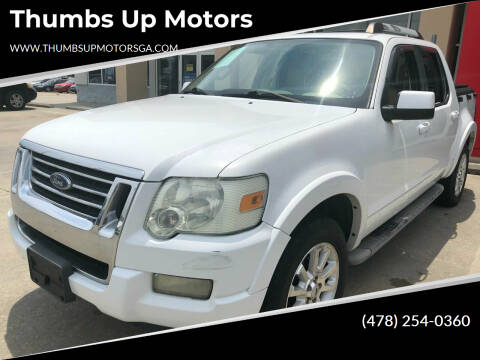 2007 Ford Explorer Sport Trac for sale at Thumbs Up Motors in Warner Robins GA