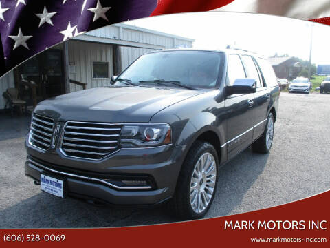 2016 Lincoln Navigator for sale at Mark Motors Inc in Gray KY