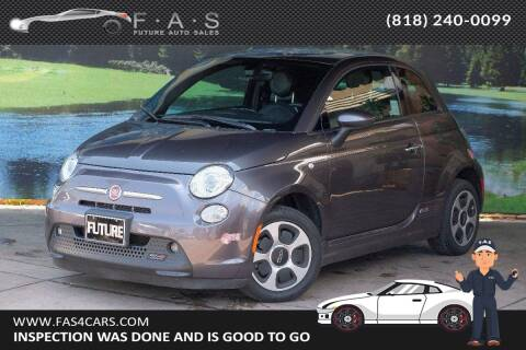 2017 FIAT 500e for sale at Best Car Buy in Glendale CA