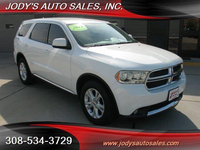 2013 Dodge Durango for sale at Jody's Auto Sales in North Platte NE