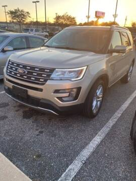 2017 Ford Explorer for sale at JOE BULLARD USED CARS in Mobile AL