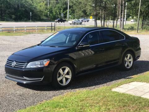 2012 Volkswagen Passat for sale at 912 Auto Sales in Douglas GA