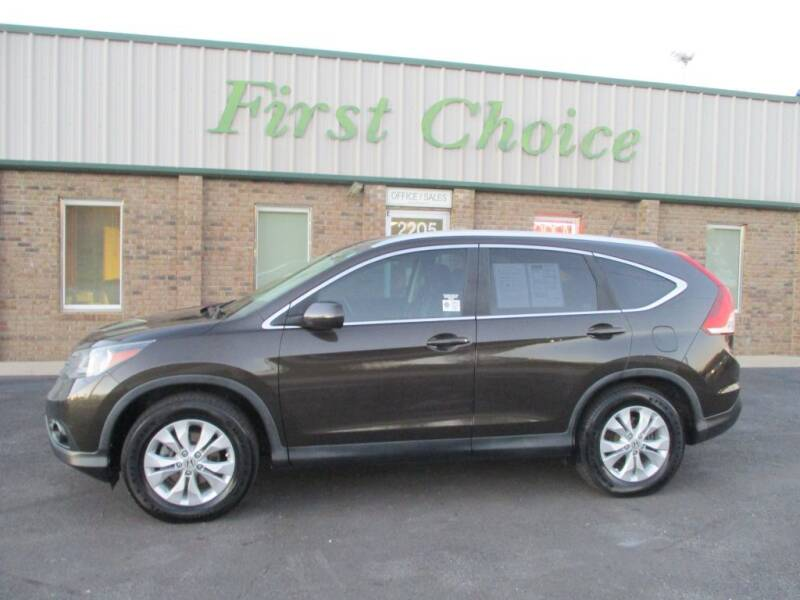 2013 Honda CR-V for sale at First Choice Auto in Greenville SC