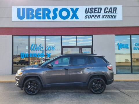 2018 Jeep Compass for sale at Ubersox Used Car Superstore in Monroe WI