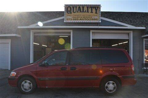 1998 Chevrolet Venture for sale at Quality Pre-Owned Automotive in Cuba MO
