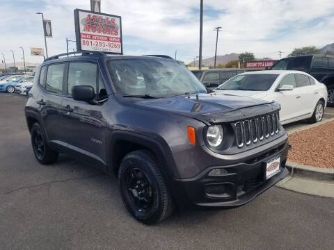2016 Jeep Renegade for sale at ATLAS MOTORS INC in Salt Lake City UT