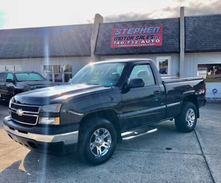 2006 Chevrolet Silverado 1500 for sale at Stephen Motor Sales LLC in Caldwell OH
