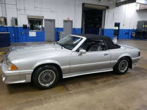 1988 Ford Mustang for sale at Classic Car Deals in Cadillac MI