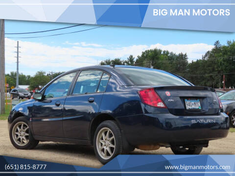 2007 Saturn Ion for sale at Big Man Motors in Farmington MN
