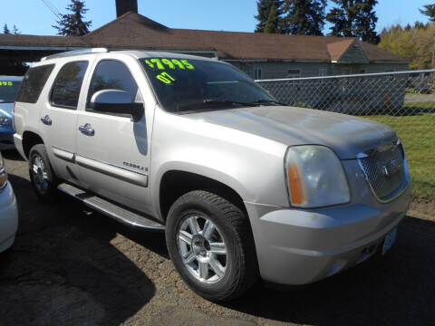 2007 GMC Yukon for sale at Lino's Autos Inc in Vancouver WA