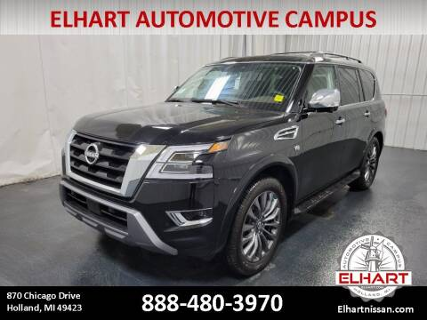 2021 Nissan Armada for sale at Elhart Automotive Campus in Holland MI