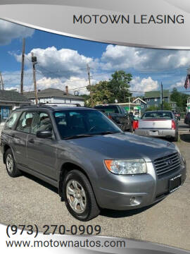 2007 Subaru Forester for sale at Motown Leasing in Morristown NJ