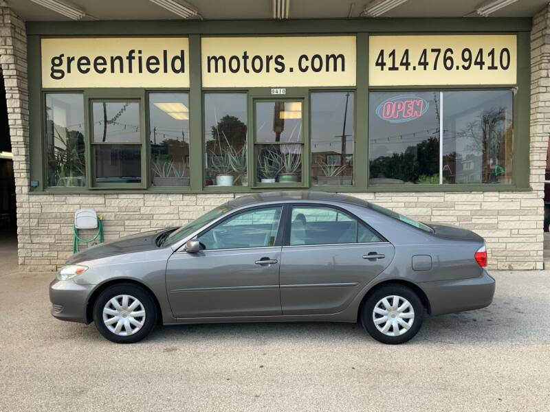 2006 Toyota Camry for sale at GREENFIELD MOTORS in Milwaukee WI