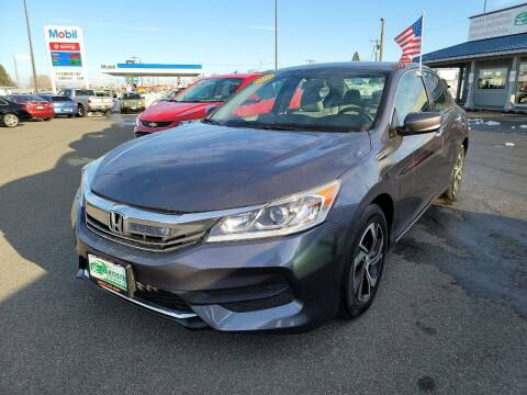 2016 Honda Accord for sale at Artistic Auto Group, LLC in Kennewick WA