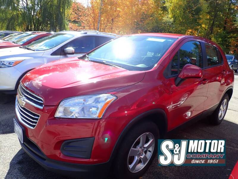 2015 Chevrolet Trax for sale at S & J Motor Co Inc. in Merrimack NH