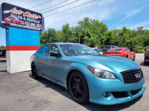 2012 Infiniti M37 for sale at Auto Outlet Sales and Rentals in Norfolk VA