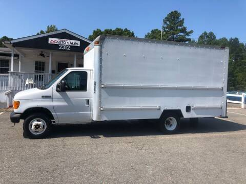 2007 Ford E-Series Chassis for sale at CVC AUTO SALES in Durham NC