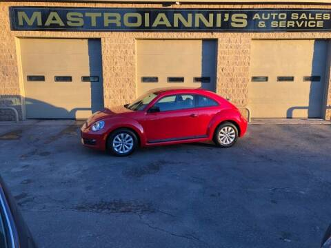 2015 Volkswagen Beetle for sale at Mastroianni Auto Sales in Palmer MA